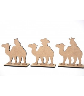 Figura Decorativa Reyes Packaging