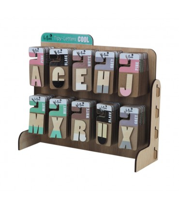 COOL adhesive letters