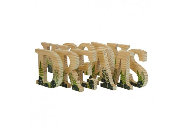 Letras Green Collection de 15cm