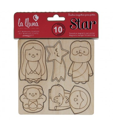 Magnetic nativity to paint STAR