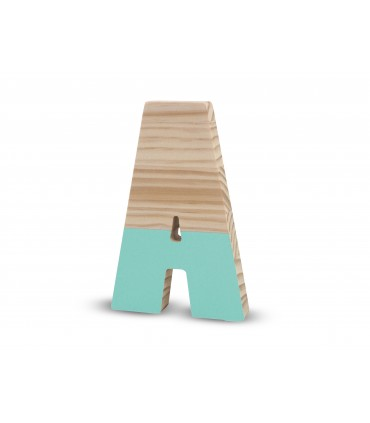 Wooden lacquered letters MINT