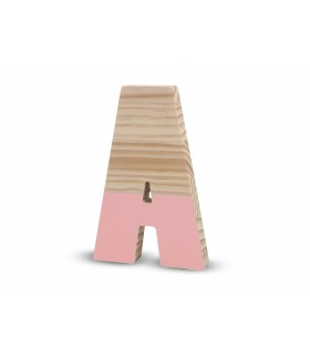 Lettere laccate Pink