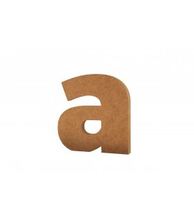 Wooden Lowercase Letters 20 cm