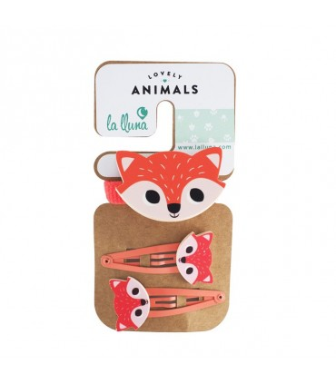 Set di capelli LOVELY ANIMALS