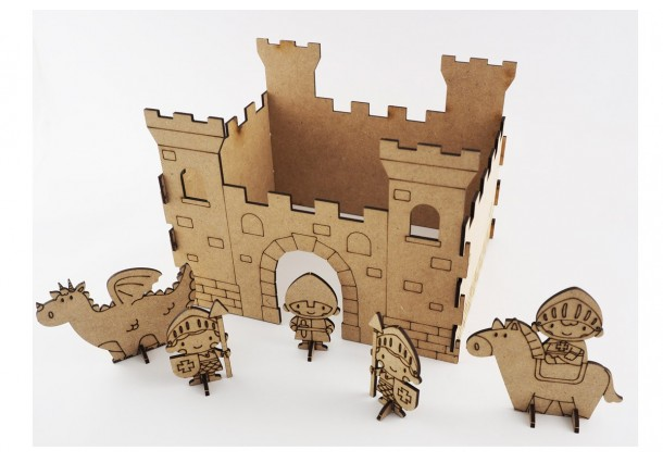 Kit to paint Knights Castle