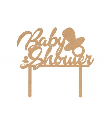 """Toppers Bautizo """"Baby Shower"""""""