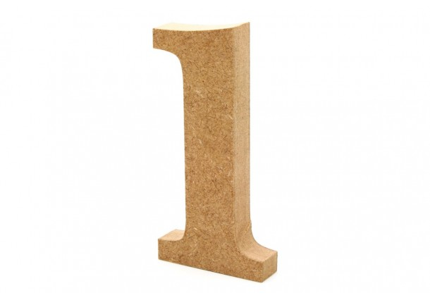 Wooden Numbers 20cm