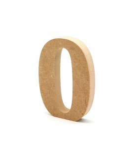 Wooden Numbers 12cm