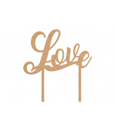 """Toppers per torte """"Love"""""""