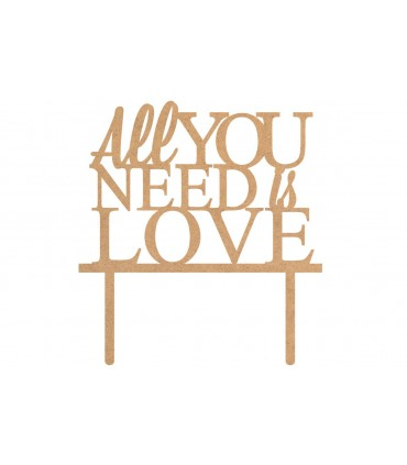 "Toppers Boda ""All you need is Love"""