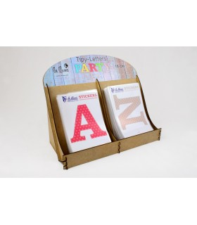 Adhesive vinil Letters 10 cm Party