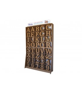 Forniture Letters & Numbers 20 cm