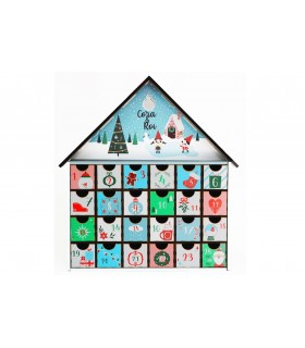 Calendari Advent Personalitzat SNOW