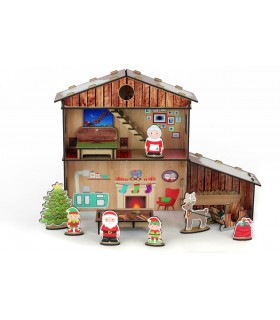 Kit Casita Papá Noel