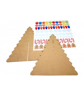 Kit Fir Tree with Stickers