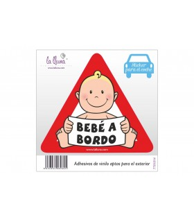 Baby on Board Stickers