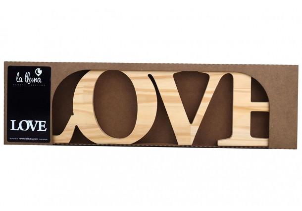 Mots décoratifs en Pin Love
