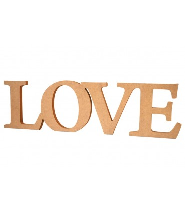 Decorative DM Word Love