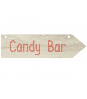 Arrow with stickers Candy Bar