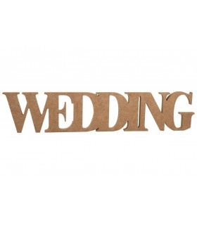 Decorative DM words Wedding