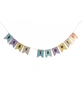 Pennants and Garlands Baptism